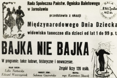 1961 bajka nie bajka plakat
