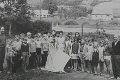 1964 kolonia w ustrzykach cała grupa