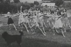 1964 kolonia w ustrzykach gimnastyka