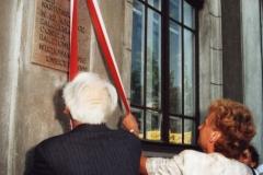 2000 30 IV odsłonięcie tablicy
