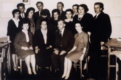 1964 grupowe z nartowską po zabawie
