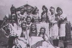 1952 VII Zlot Młodzieży w W-wie