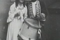 1959 żolnierz i dziewczyna Kraków